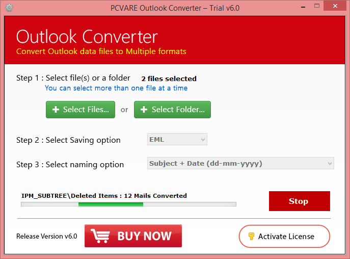 Click on Convert; Process Done